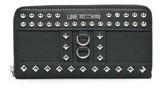 Dámská Peněženka Na Zip Love Moschino Zelená JC5595PP06KV