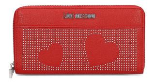 Dámská Peněženka Na Zip Love Moschino Červená JC5562PP16LT