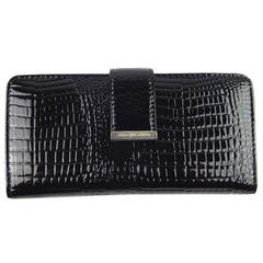Jennifer Jones dámská kožená peněženka černá 5280