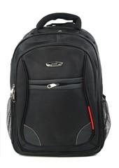 Batoh na notebook černý s červeným lemováním PULCINI