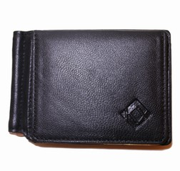 Kristy.X pánská černá peněženka dolarovka