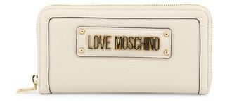 Dámská Peněženka Na Zip Love Moschino Hnědá JC5621PP17LD