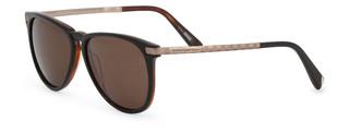 Sluneční brýle Ermenegildo Zegna Hnědé EZ0038