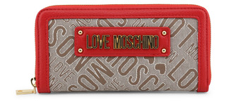 Dámská Peněženka Na Zip Love Moschino Červená JC5617PP17LC