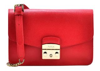 Dámská Luxusní Kabelka Furla Červená 972393