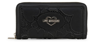 Dámská Peněženka Na Zip Love Moschino Černá JC5645PP07KD
