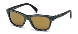 Sluneční brýle Diesel Modré DL0111_52