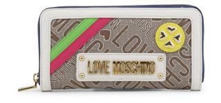 Dámská Peněženka Na Zip Love Moschino Bílá JC5642PP07KB