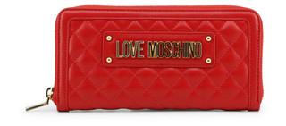 Dámská Peněženka Na Zip Love Moschino Červená JC5640PP07KA