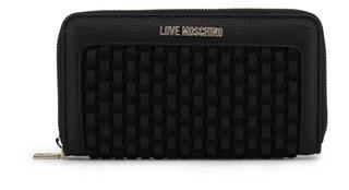 Dámská Peněženka Na Zip Love Moschino Černá JC5655PP07KM