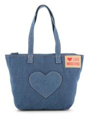 Dámská Kabelka Love Moschino Modrá JC4250PP07KG