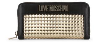 Dámská Peněženka Na Zip Love Moschino Černá JC5643PP07KD