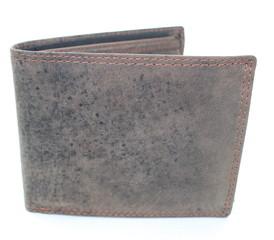 Pánská Kožená Peněženka Hnědá MTH305-BR
