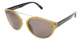 Sluneční brýle Dsquared2 Žluté DQ0255