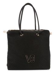 Velká Nákupní Taška přes rameno Versace Jeans Černá E1VTBBIA_70886