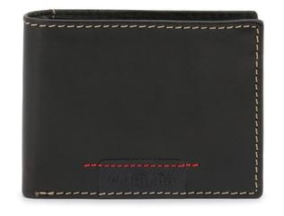 Pánská Stylová Peněženka Carrera Jeans Černá CB1862B