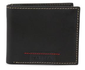 Pánská Stylová Peněženka Carrera Jeans Černá CB1867