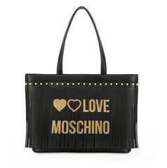 Dámská Velká Taška Přes Rameno Love Moschino Černá JC4101PP18LS