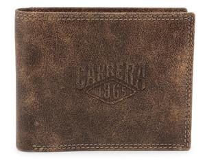 Pánská Stylová Peněženka Carrera Jeans Hnědá CB1872