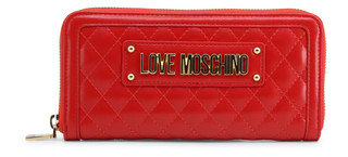Dámská Luxusní Velká Peněženka Love Moschino Červená JC5600PP18LA