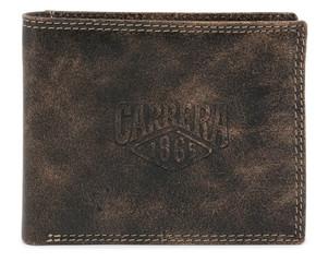 Pánská Stylová Peněženka Carrera Jeans Černá CB1872