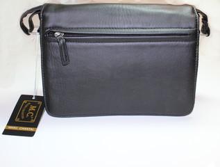 Dámská listová kabelka přes rameno černá Marc Chantal