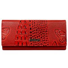 Dámská velká červená peněženka Cavaldi PN24-BFC