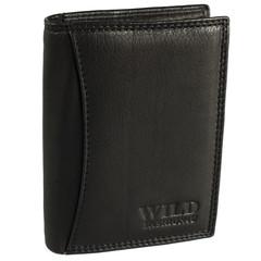 Pánská Kožená Peněženka Černá C-5500-BL