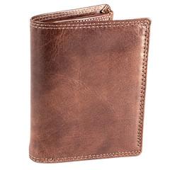 Pánská kožená peněženka EuroFashion4u 306-R.BRN