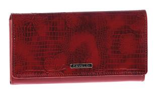 Dámská Velká Červená Peněženka Cavaldi PN24-RSBF