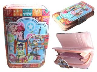 Dětská peněženka s motivem Paříže YN242