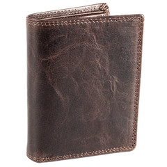 Pánská kožená peněženka EuroFashion4u 306-D.BRN