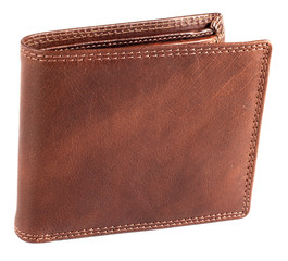 Pánská hnědá kožená peněženka EuroFashion4u 5700-R.BRN