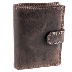Pánská kožená peněženka EuroFashion4u 306-L-D.BRN