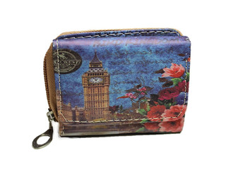 Malá peněženka s motivem Londýna