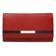 Dámská Červená Kožená Peněženka LOREN D7-MSS