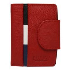 Dámská Červená Kožená Peněženka LOREN N26-MSS