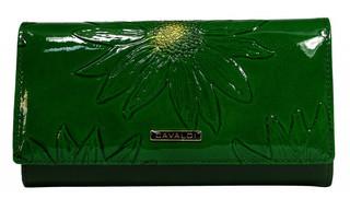 Dámská Velká Zelená Peněženka Cavaldi PN27-SF