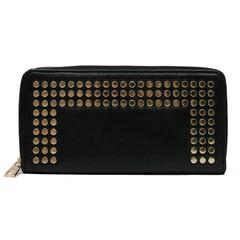 Dámská velká peněženka na zip černá Cavaldi YYXB-07