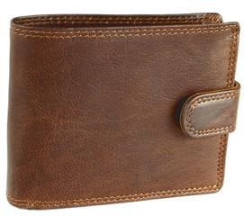 Pánská kožená peněženka EuroFashion4u 305-L-CH.NUT