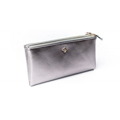 Dámská velká stříbrná peněženka MILANO DESIGN SF1845 ML BLACK