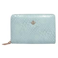 Dámská Kožená Peněženka Modrá MILANO DESIGN S1207