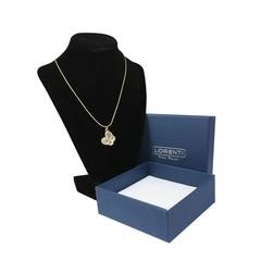 Zlatý náhrdelník s přívěskem motýla Lorenti 20