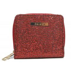 Dámská Peněženka na zip červená Cavaldi CHWJ-02-WINE