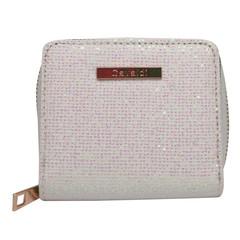 Dámská Peněženka na zip Bílá Cavaldi CHWJ-02-White