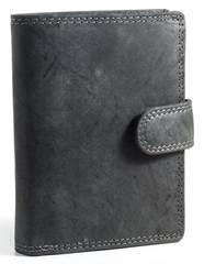 Pánská kožená peněženka Wild Fashion4u MTH306L-BL