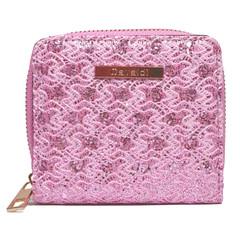 Dámská Peněženka na zip Růžová Cavaldi CHWJ-02-PINK