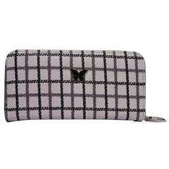 Dámská velká peněženka na zip 1105-pink