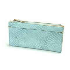 Dámská velká modrá peněženka MILANO DESIGN K1209-SN