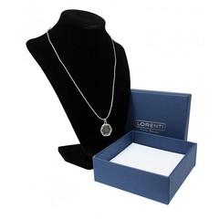 Stříbrný náhrdelník s přívěskem květiny Lorenti 22